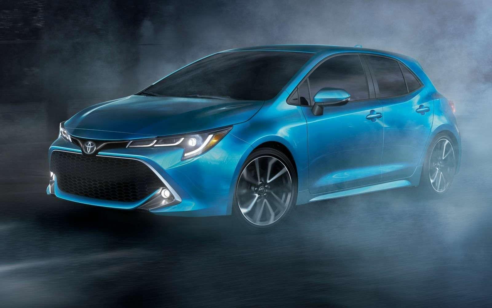 Новая Toyota Corolla: они назвали еенеудержимой!— фото 856183