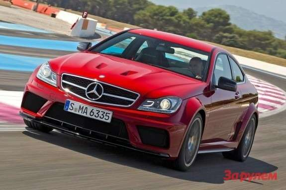 Mercedes-Benz C 63 AMG Coupe Black Series front view