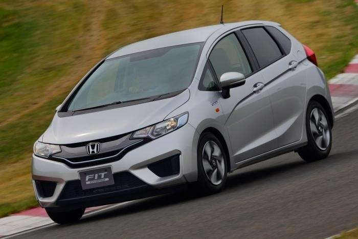 honda jazz front three quarters no copyright