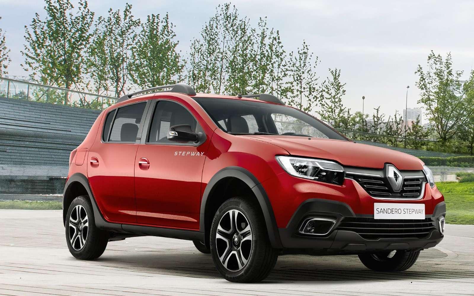 Renault показала кросс-версию Logan— фото 896287