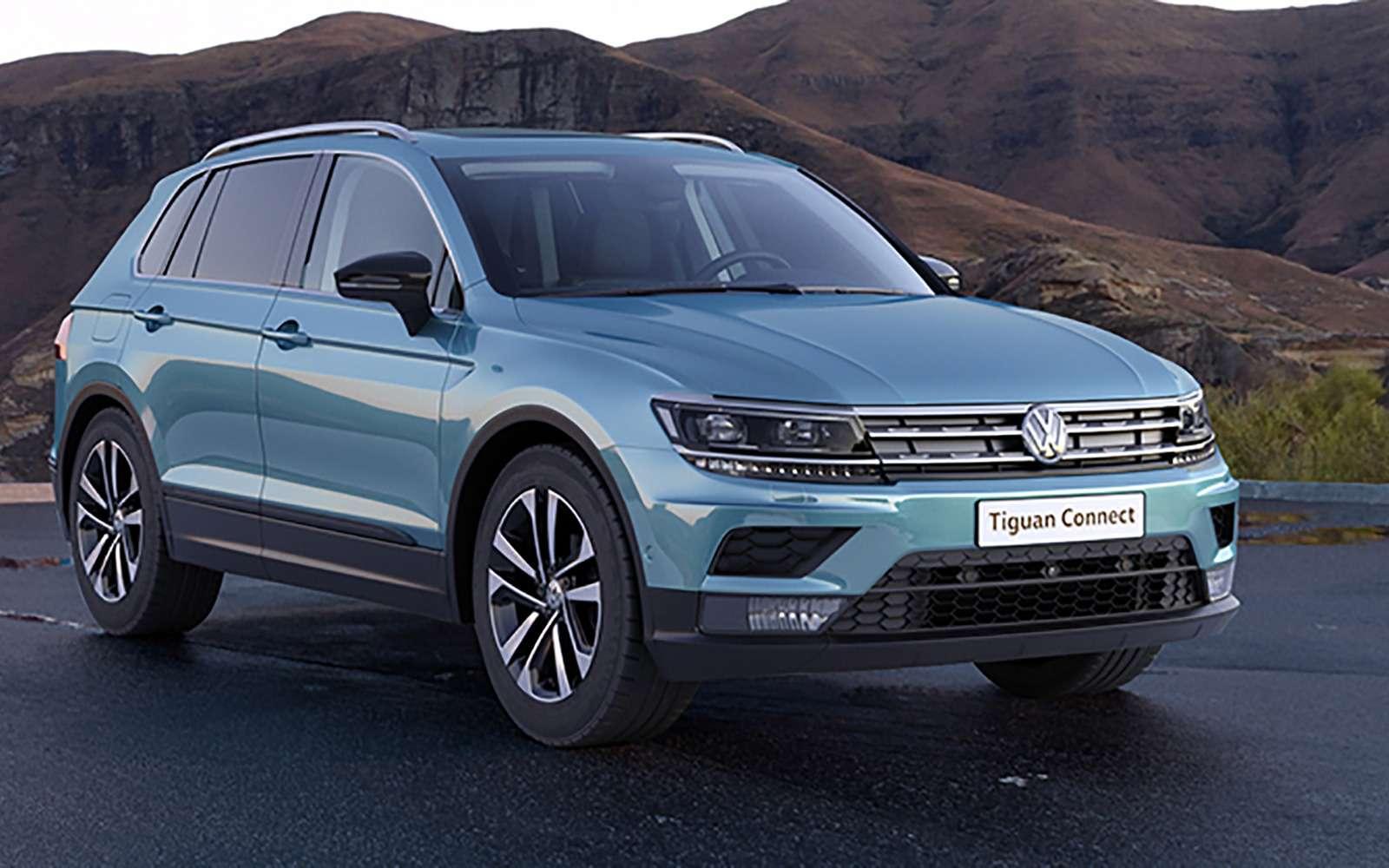 Volkswagen Tiguan получил новую комплектацию вРоссии— фото 949101