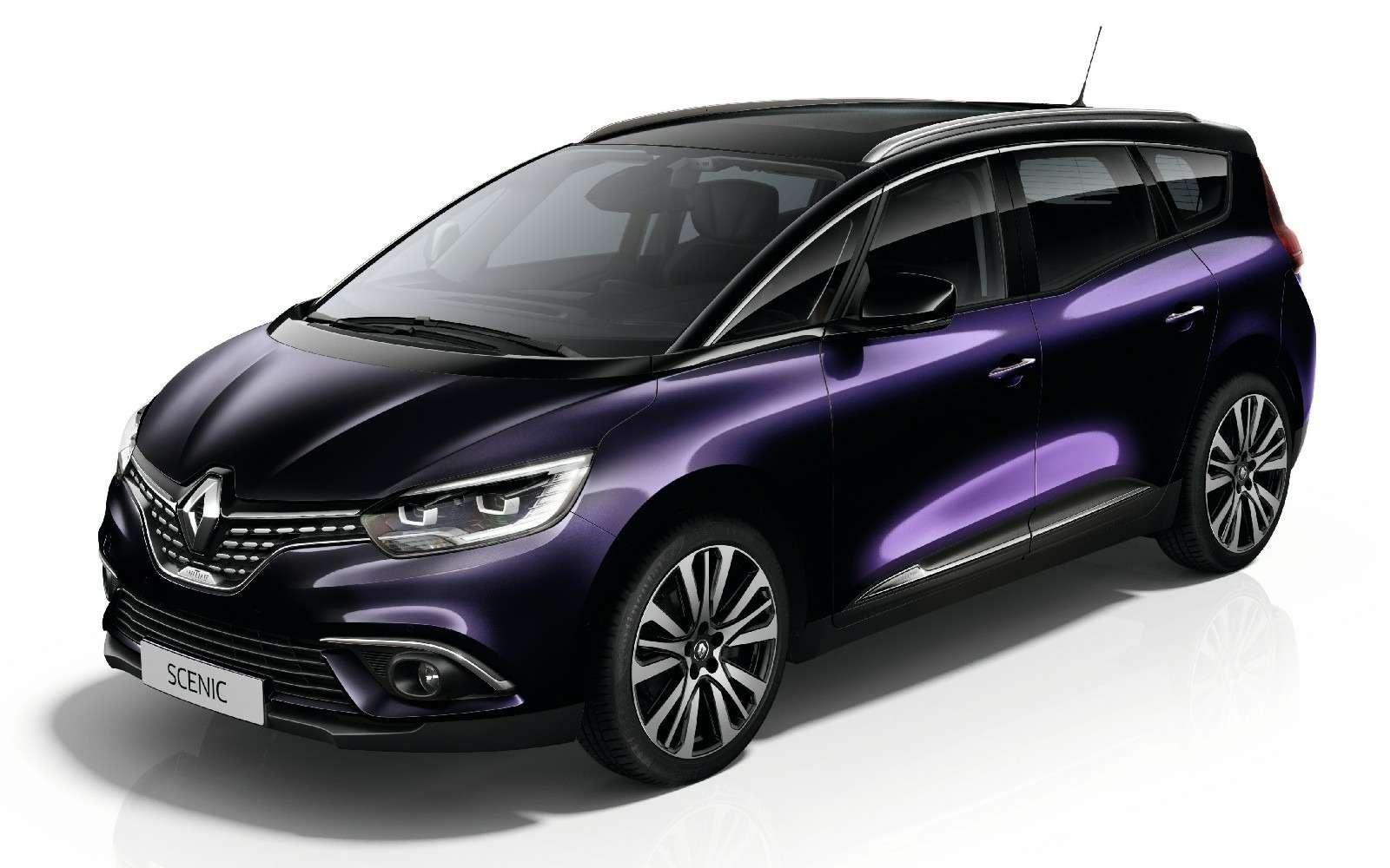 Парижский гламур: новый Renault Scenic стал еще красивее— фото 759170