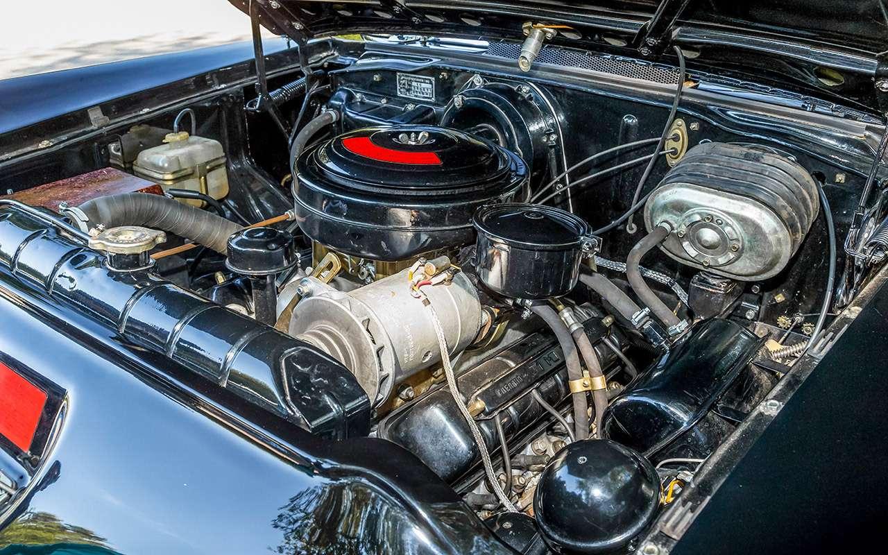 Чайка ГАЗ-14и ееамериканские «уши»— фото 1274112