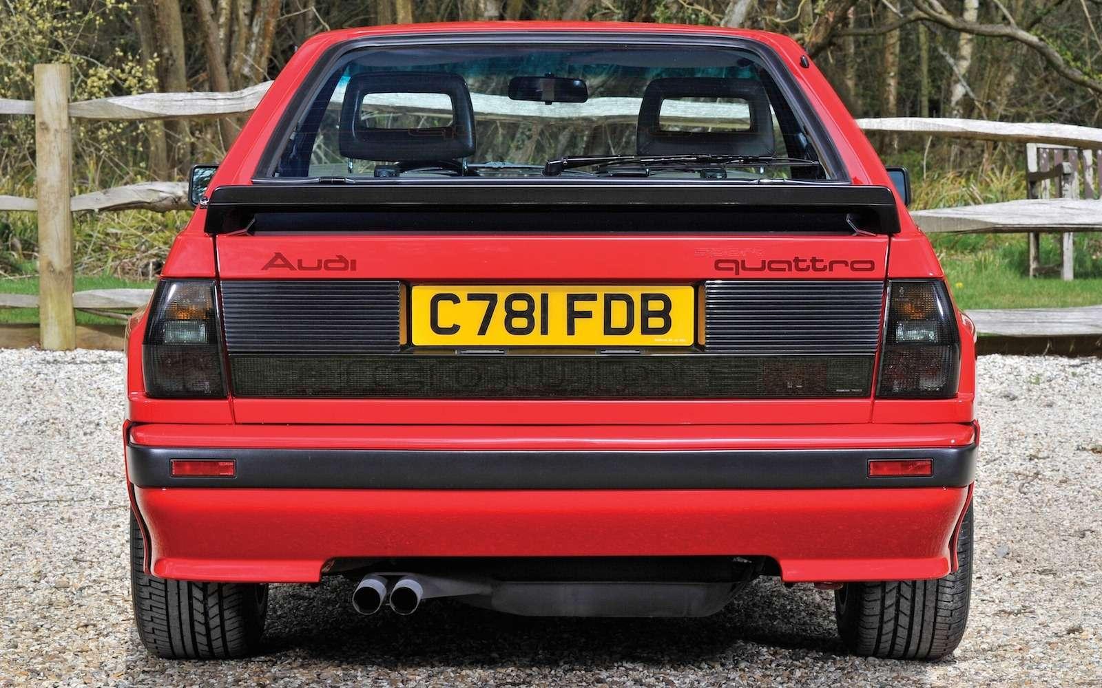 Драгоценный коротыш: легендарный Audi Sport quattro продан забешеные деньги— фото 632238