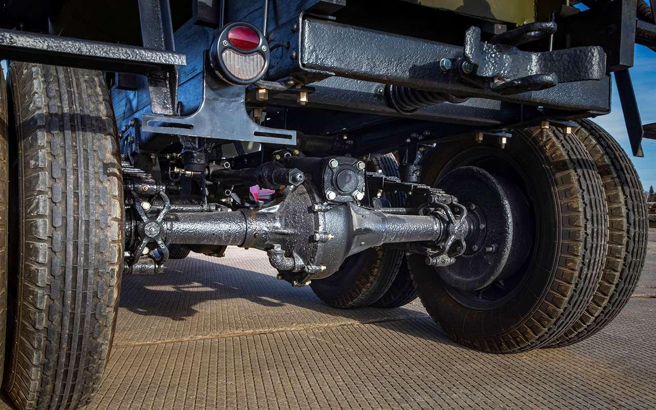 Машины Победы: ретротест настоящих фронтовых грузовиков— фото 1121590