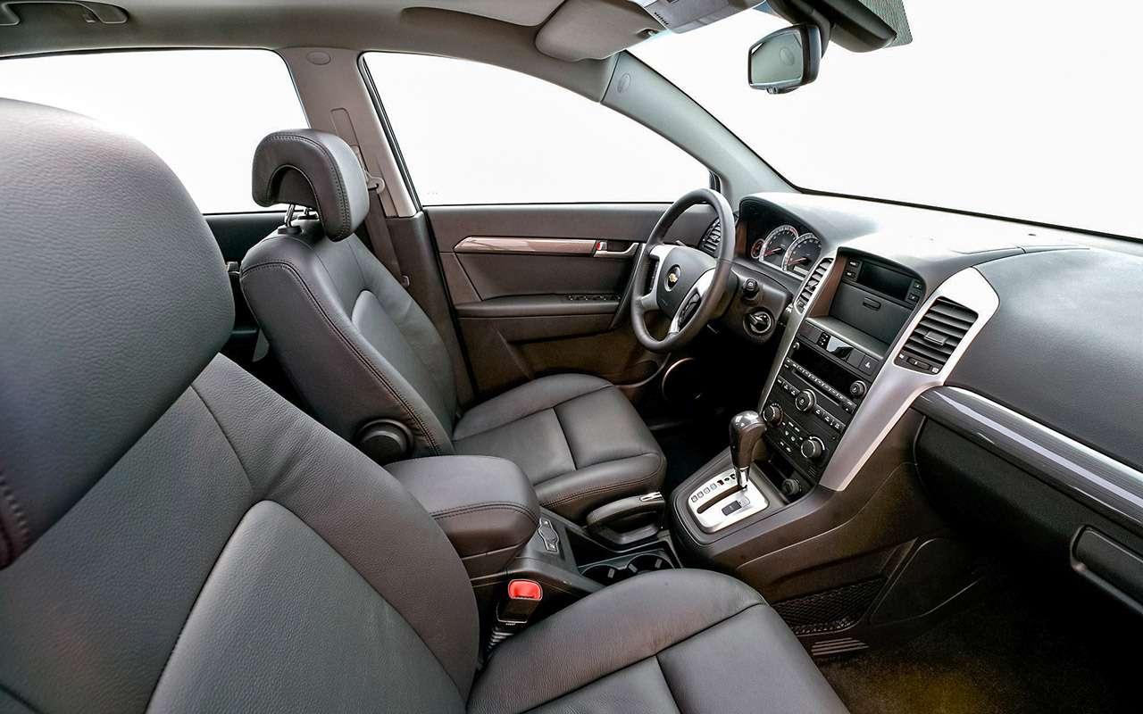 Chevrolet Captiva свторички: список проблем— фото 1167332