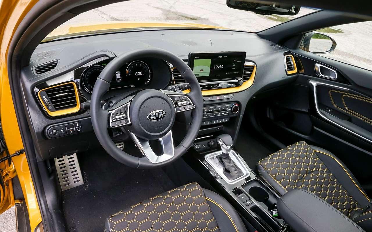 Новый Kia XCeed: сравнили две версии «почти кроссовера»— фото 1143621