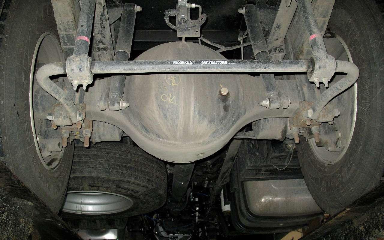 Новый 18-тонный грузовик Ford российской сборки— фото 1226837