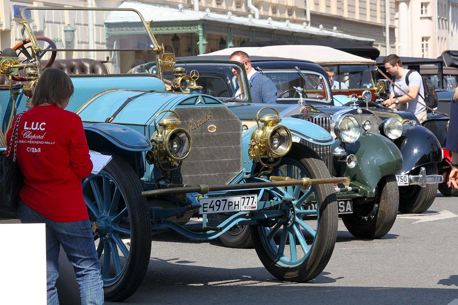 L.U.C Chopard Classic Weekend Rally: эмоции сналетом старины— фото 595984