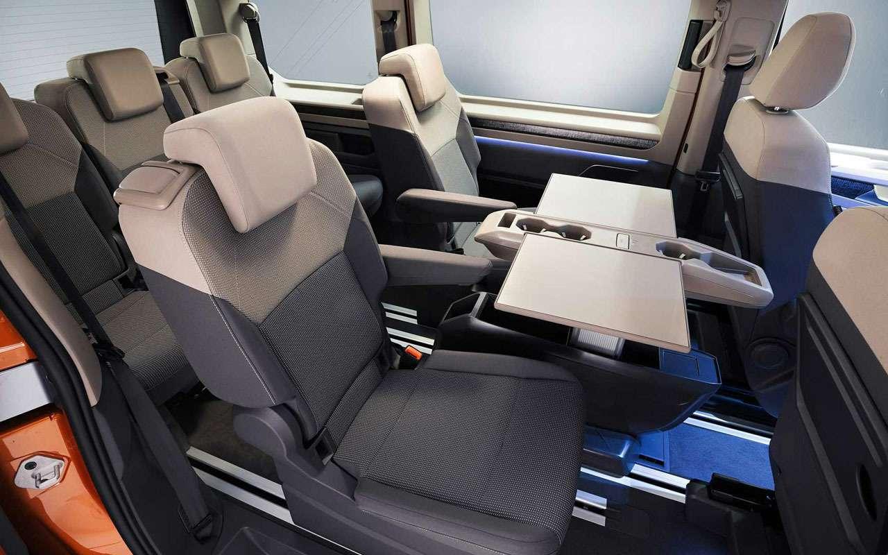 VWпредставил новое поколение Multivan— фото 1253054