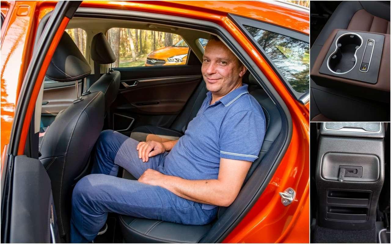 Geely GS, Chery Tiggo 7, Renault Kaptur: большой тест кроссоверов— фото 1012327