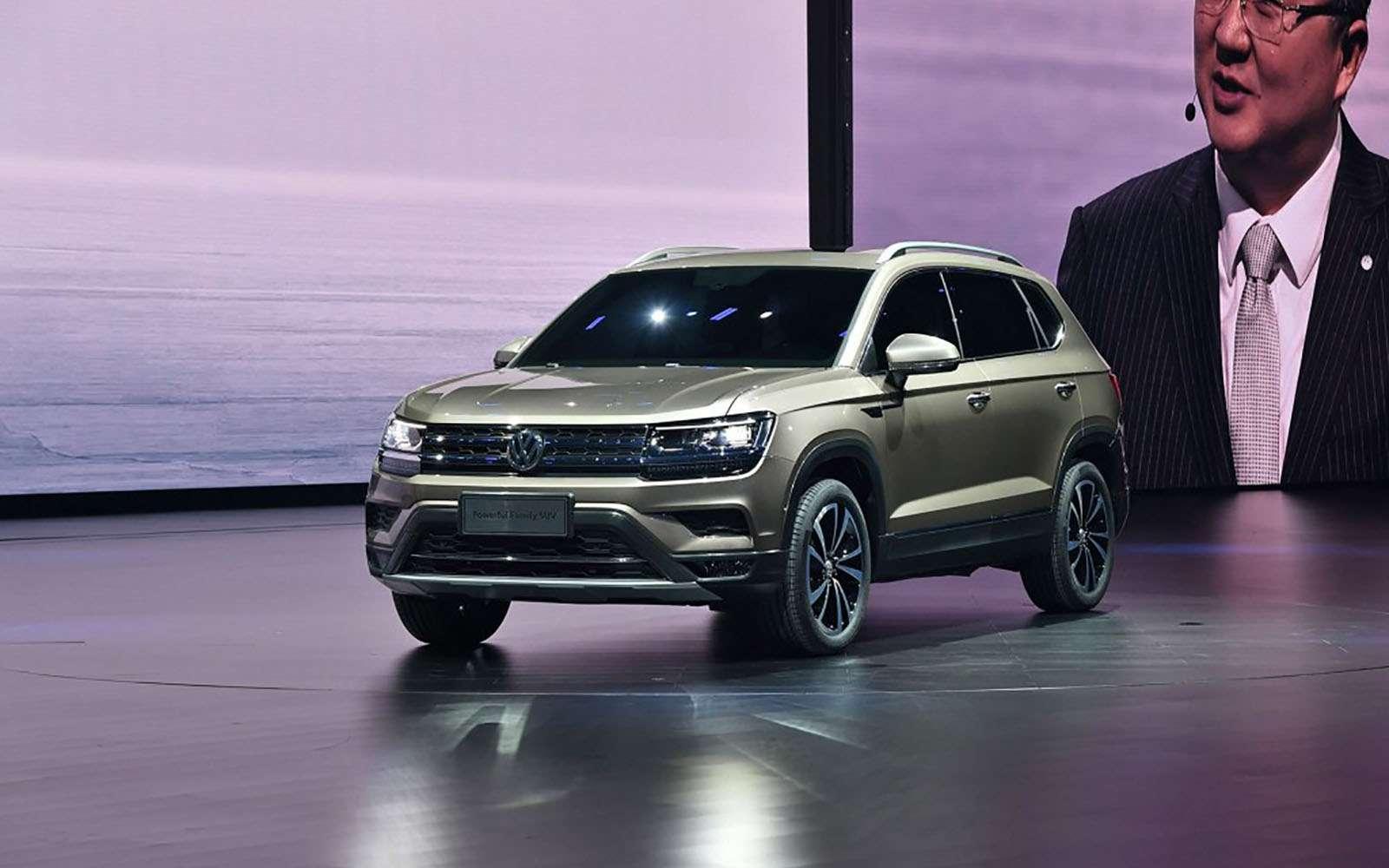 Volkswagen показал два новых кроссовера дляРоссии— фото 856984