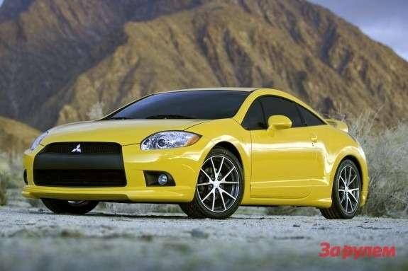 Mitsubishi Eclipse GTside-front view