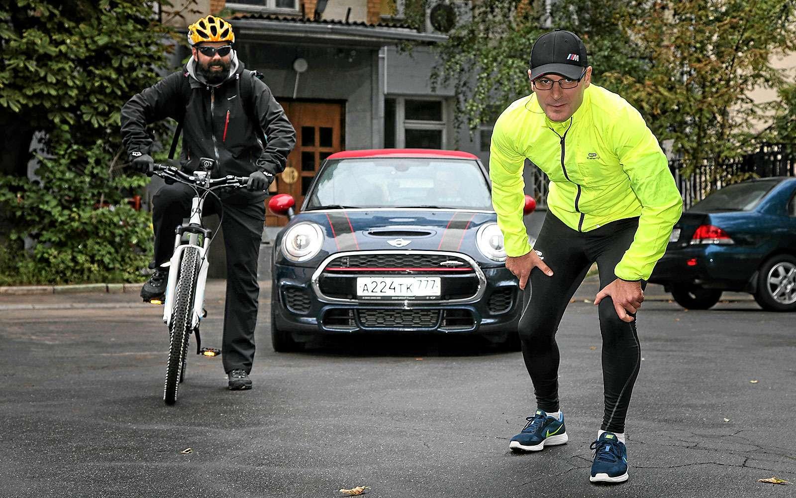 Автомобиль, велосипед или бегун: кто быстрее?— фото 640384