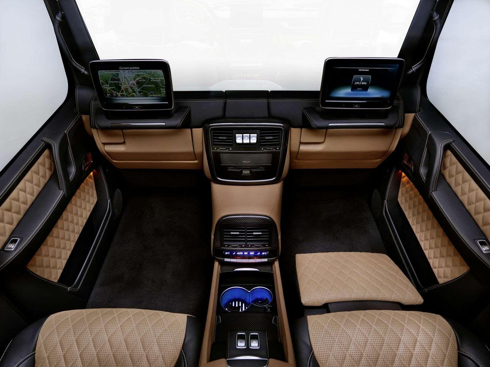 Mercedes-Maybach представил люксовый кабриолет G-класса— фото 706745
