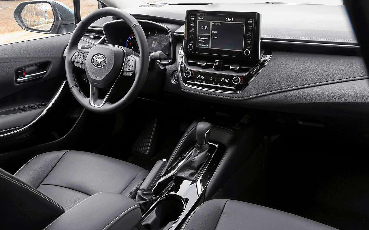 Новые Corolla иElantra плюс С4: большой тест седанов С‑класса— фото 970528