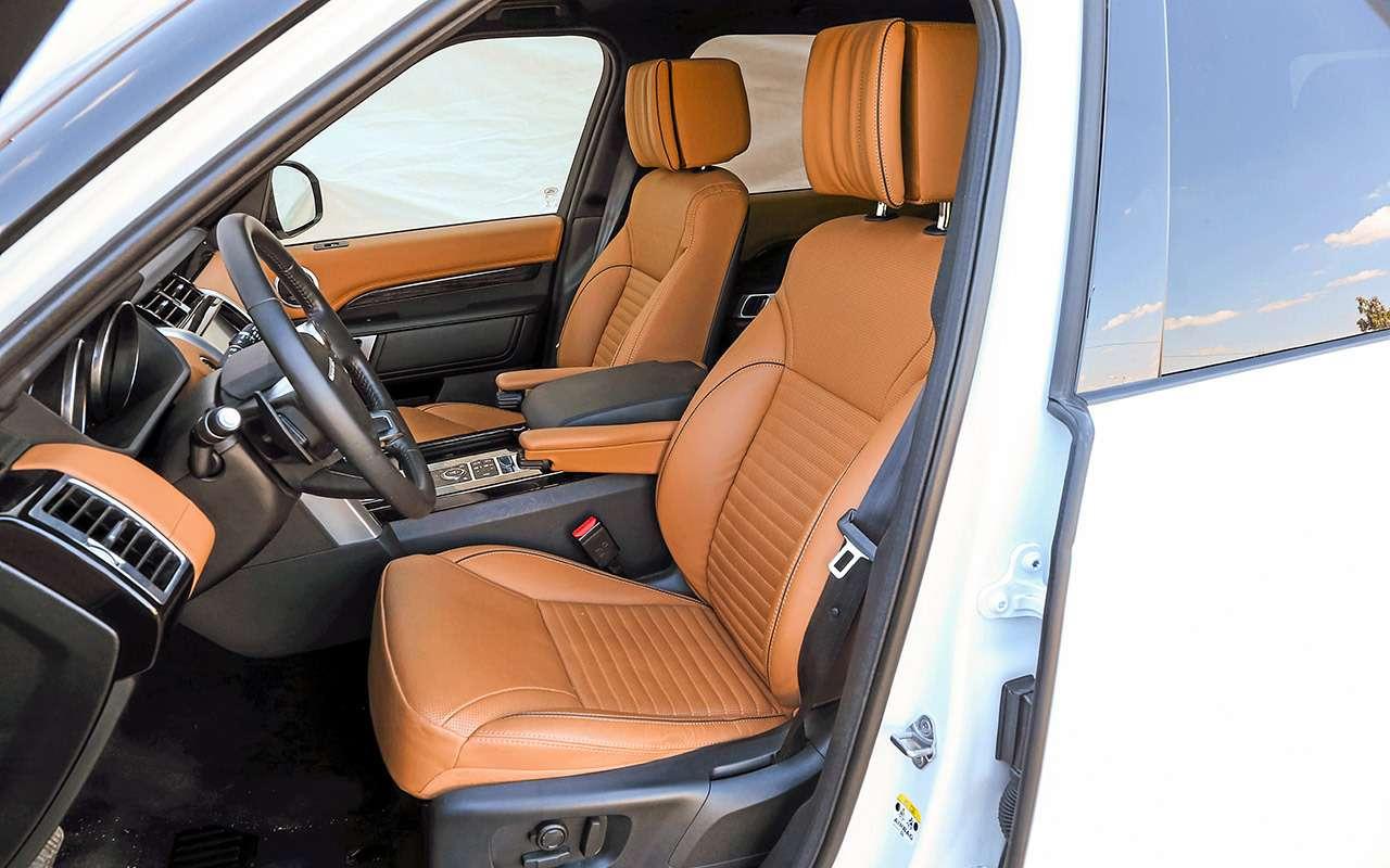 Новый VWTouareg, Land Rover Discovery иLexus RX350: большой тест-драйв— фото 899442
