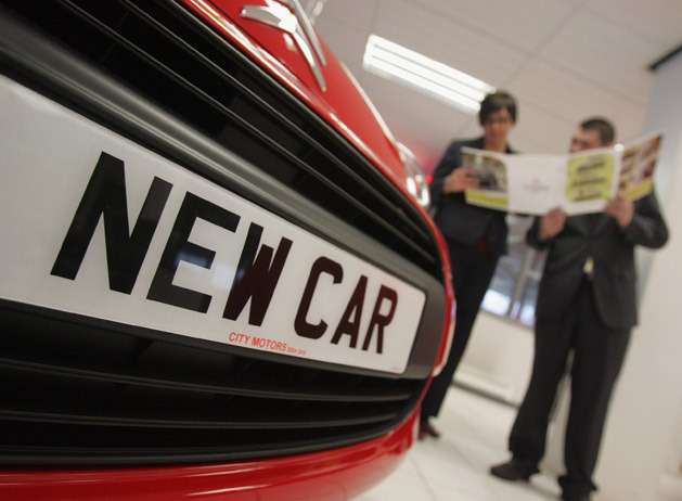 no copyright uk new car