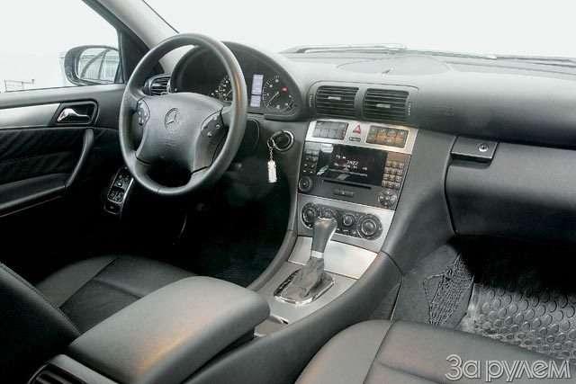 Тест Audi A42.0, Volvo S402.4, BMW 320i, Mercedes-Benz C230 Kompressor. Noblesse oblige— фото 56466