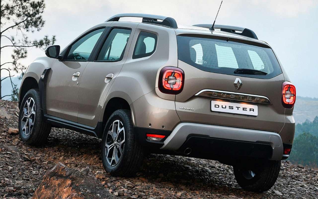 Renault испытывает новый Duster— фото 977425