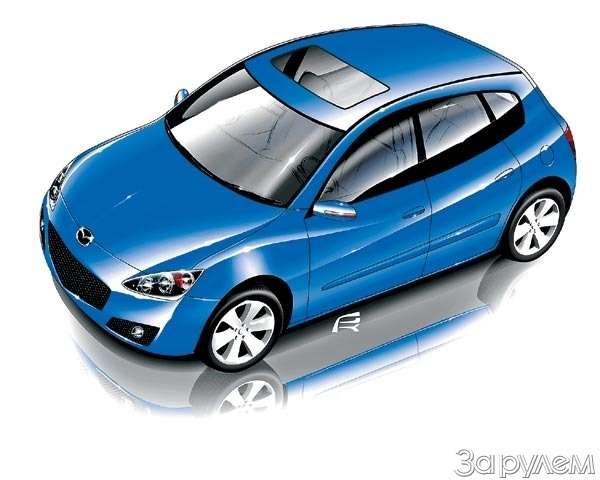 Mazda Sassou. Упяти углов— фото 62211