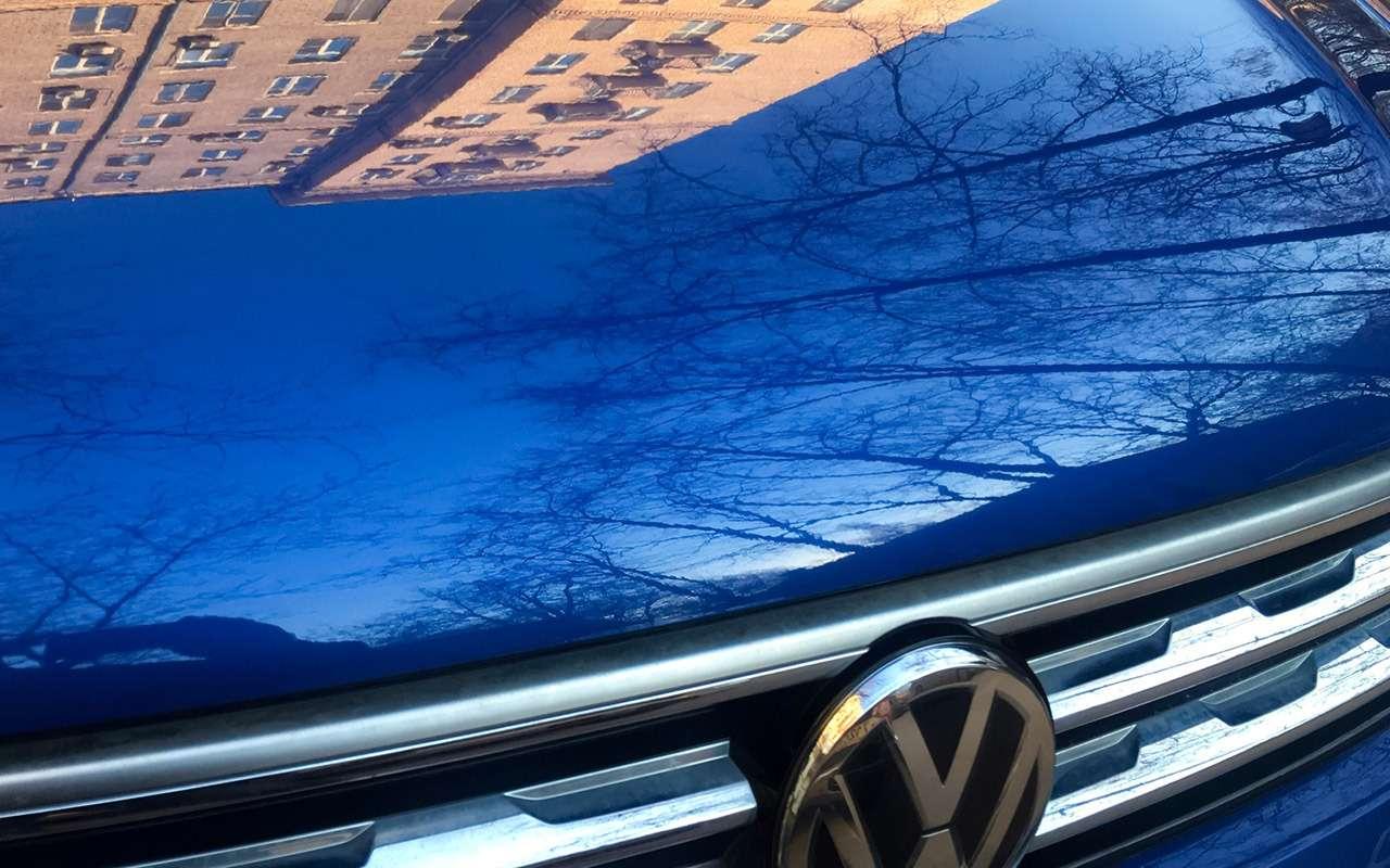 Первые 10тыс. кмнаVolkswagen Tiguan: все проблемы— отклимата— фото 985824