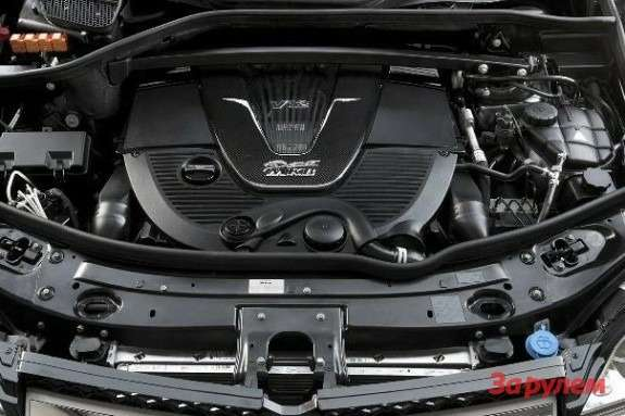 Mercedes-Benz V12 5.5-liter biturbo engine