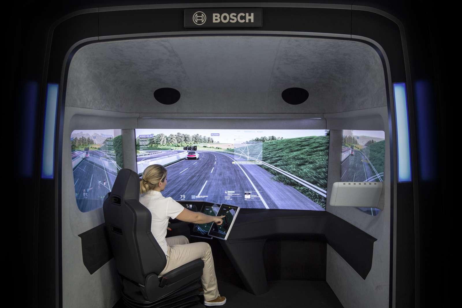 Концепт Bosch VisionX научили ходить встрою— фото 637806