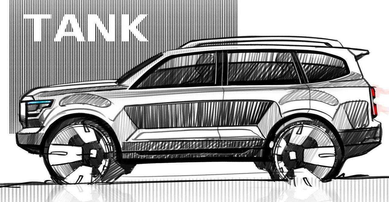 Tank 600от Great Wall— новый конкурент LCPrado— фото 1263699