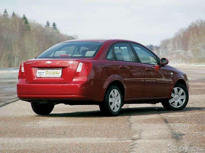 Chevrolet Lacetti. Крести— козыри— фото 67379