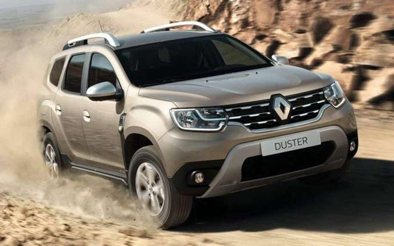 Renault испытывает новый Duster— фото 977424