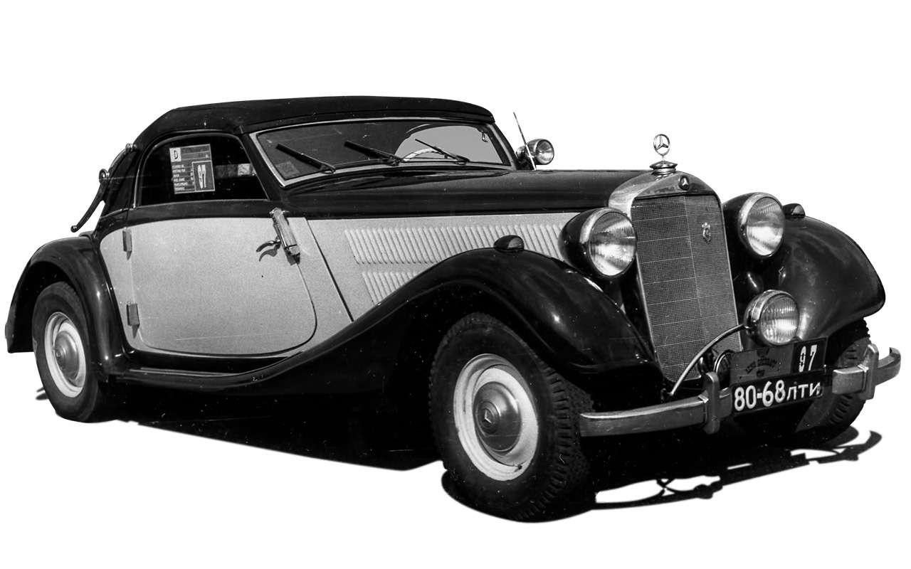 Очень редкий Мерседес W142— ретротест кабриолета-пенсионера— фото 950203