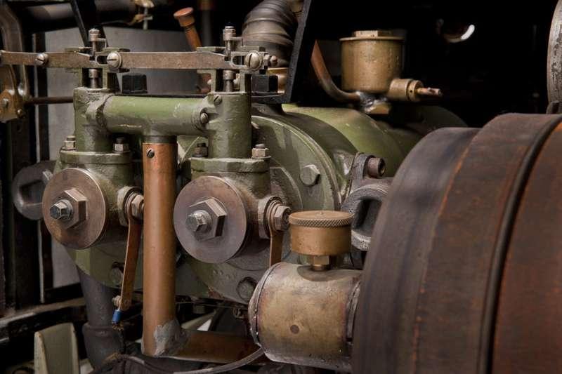 Горизонтальный двухцилиндровый двигатель повозки. Фото: www.thehenryford.org