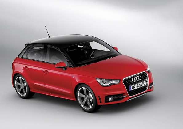 Audi A1Sportback Sline/Standaufnahme