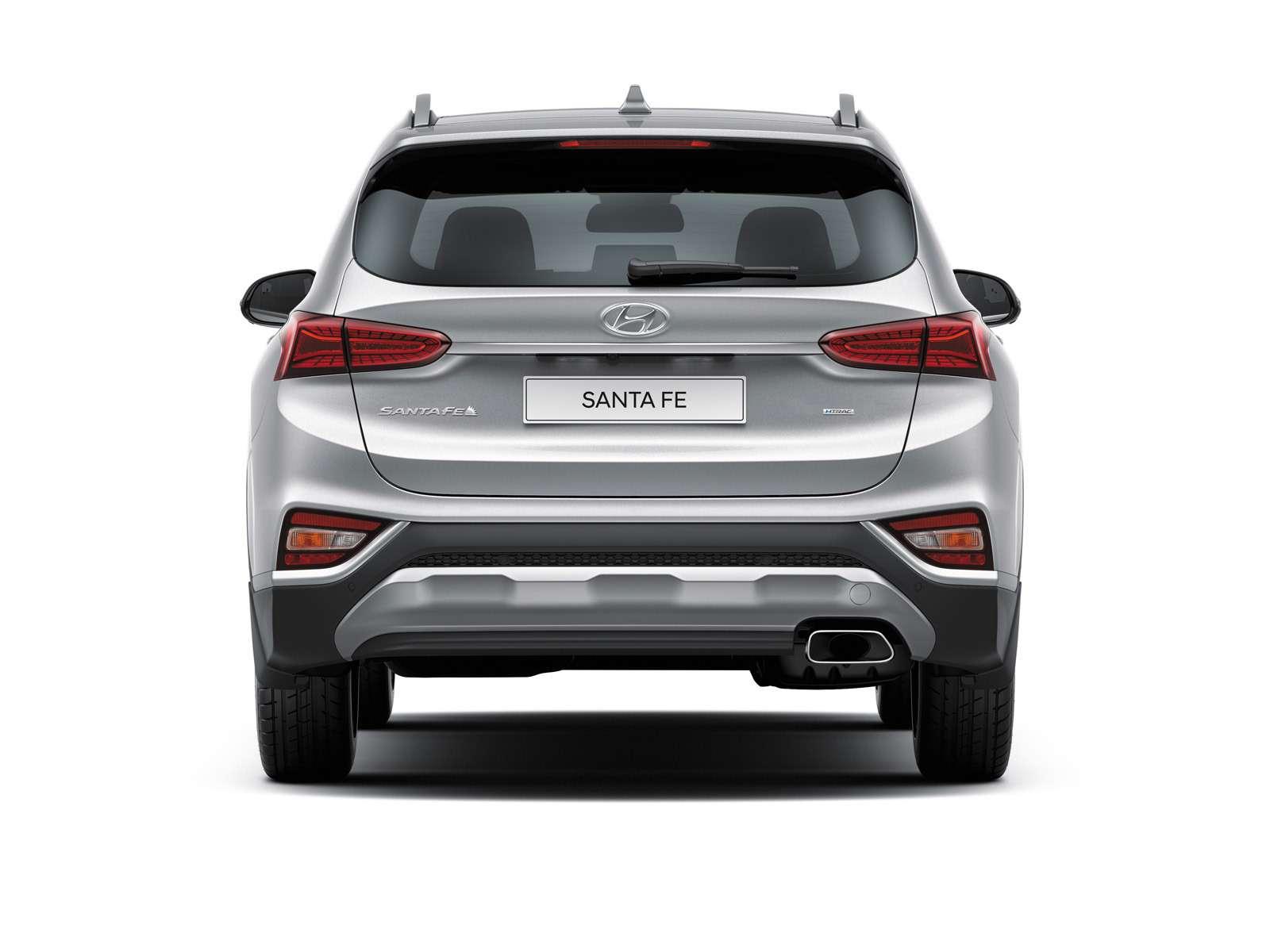 Новый Hyundai Santa Fe: российские цены икомплектации— фото 893460