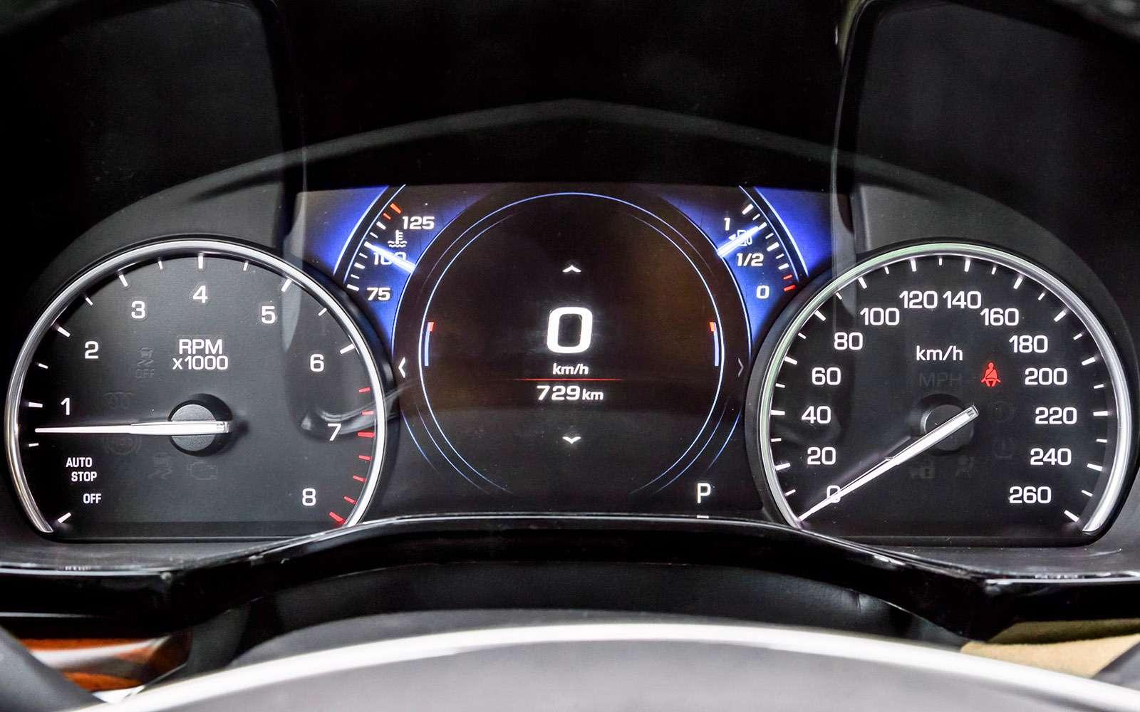 Тест премиум-кроссоверов: Lexus RX350, Cadillac XT5и Jaguar F-Pace— фото 721816