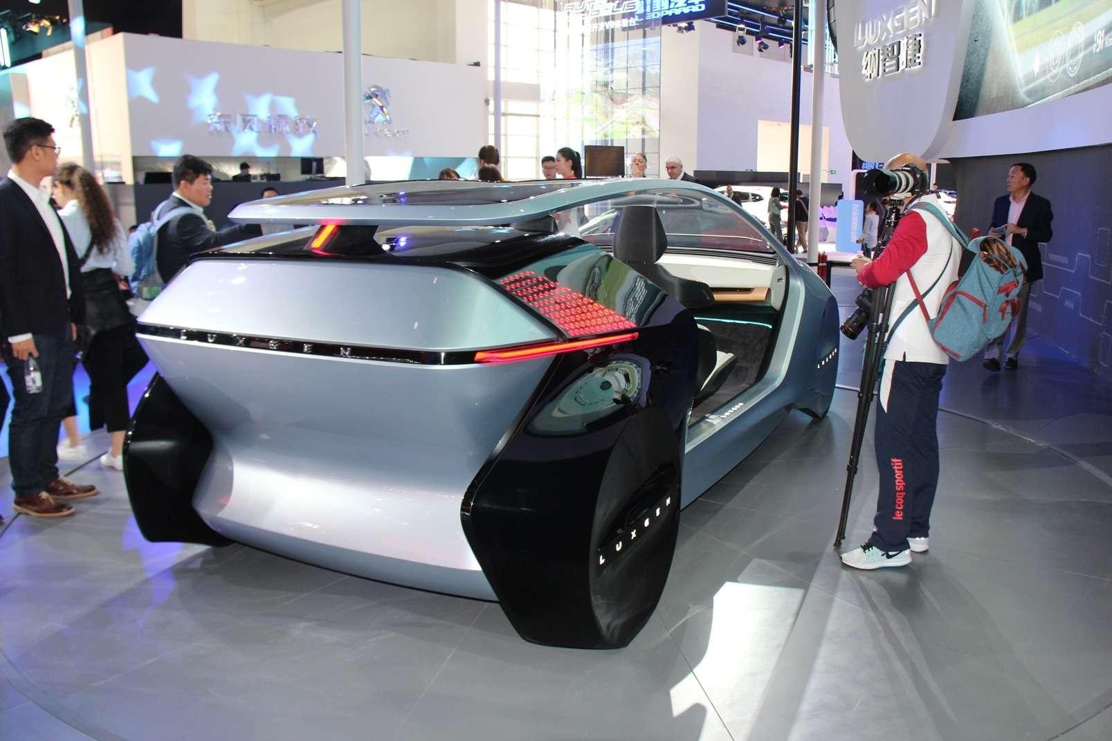 Уходим отплагиата? Что показали китайцы наПекинском мотор-шоу— фото 865973