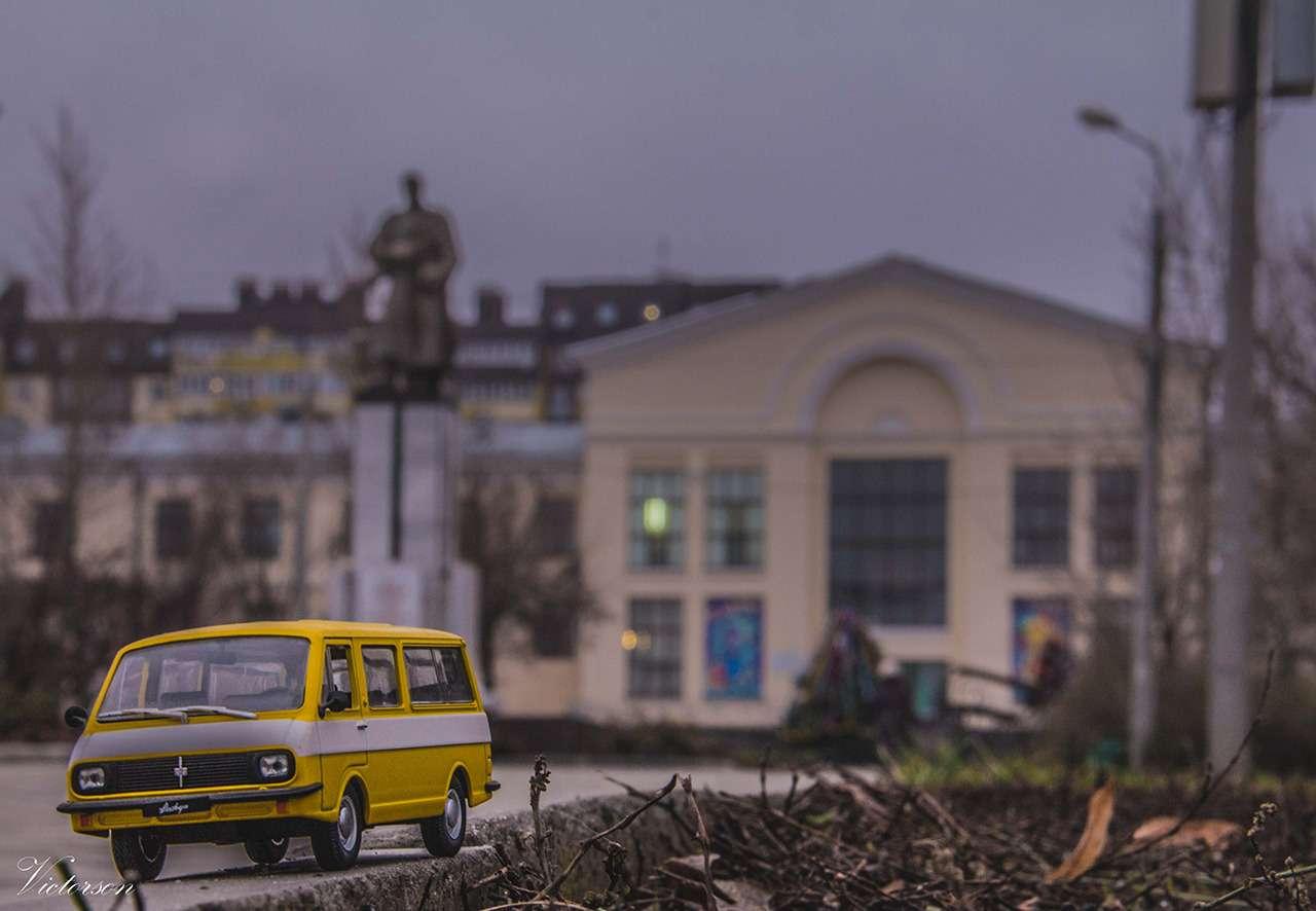 Город наладони: путешествие наминиатюрных автомобилях— фото 830404