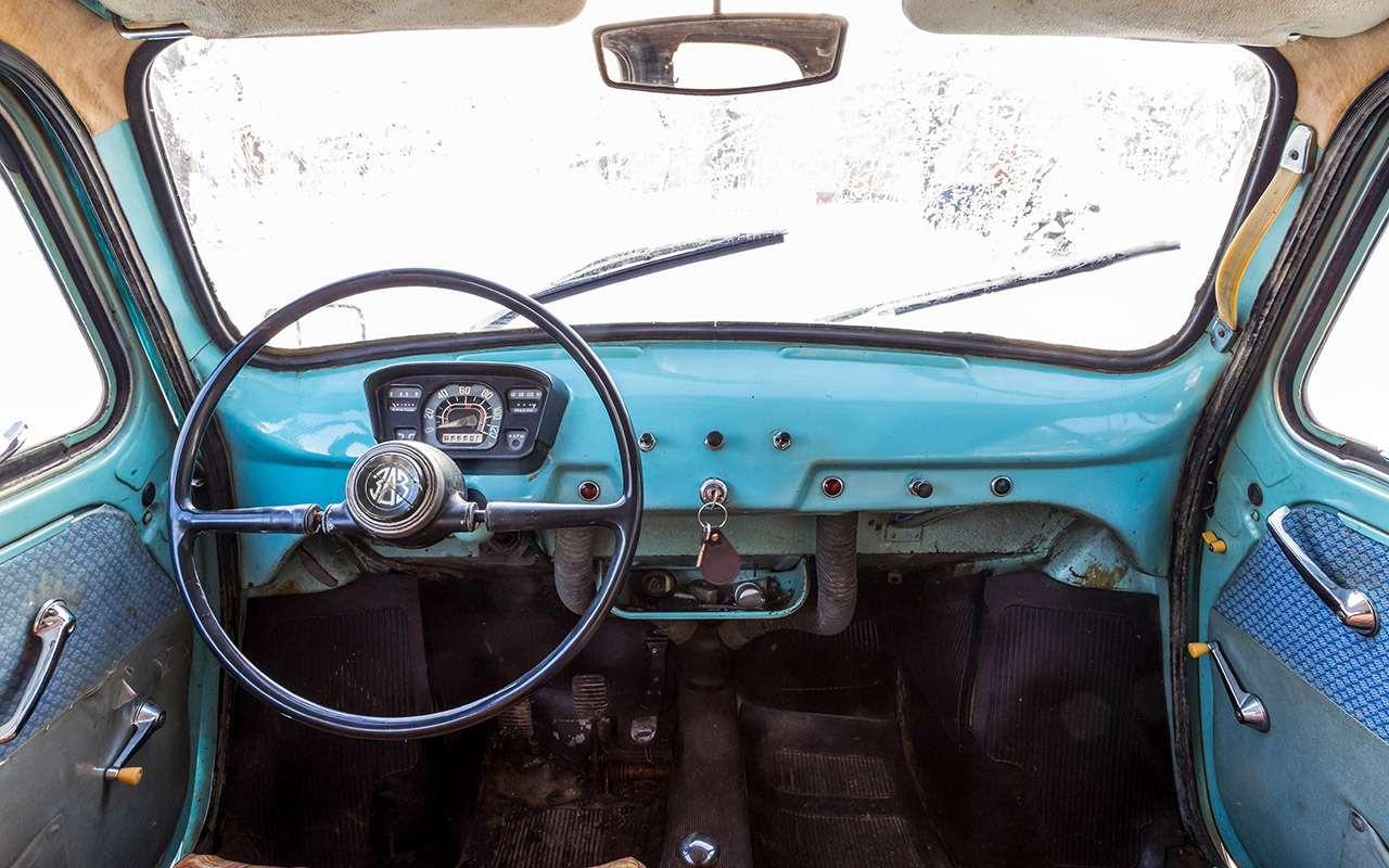 Советские автомобили против иномарок— супертест кюбилею— фото 858344