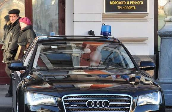 Росморречфлота Audi A8L