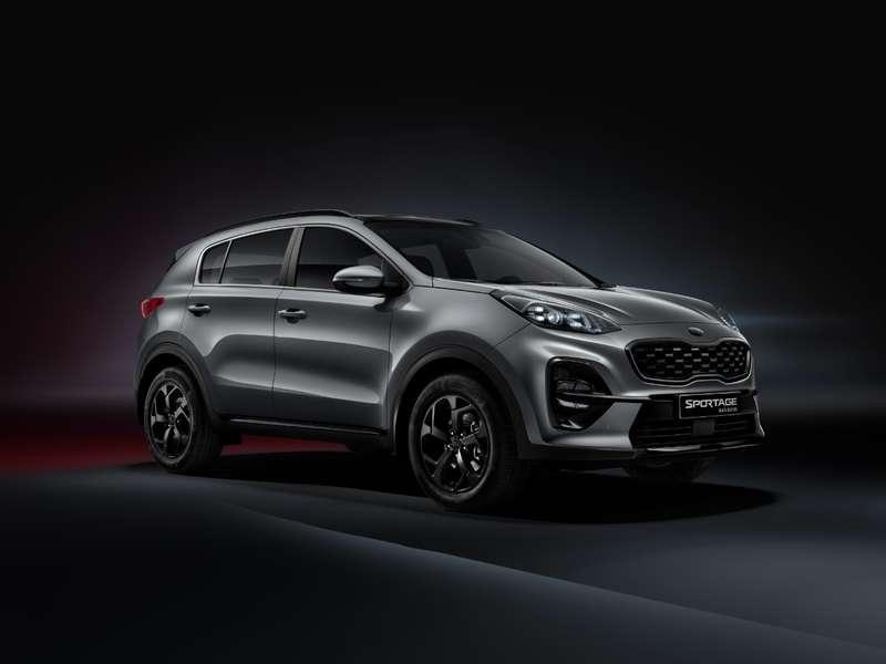 «Черная» версия Kia Sportage— продажи начались