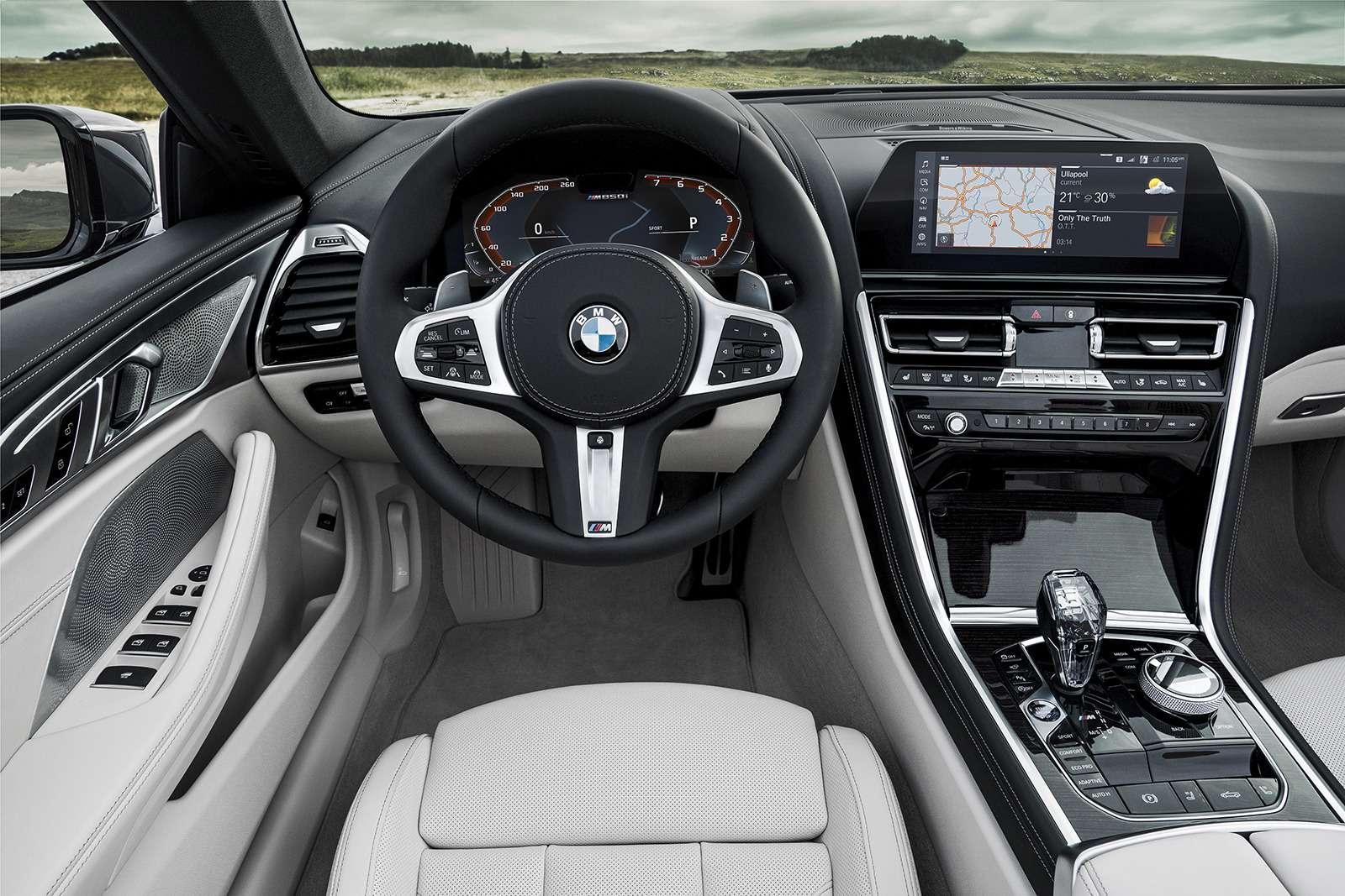 Кабриолет 8-й серии BMW: роскошь, открытая всем ветрам— фото 919727