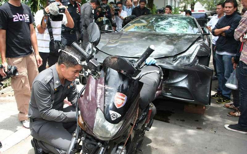 Наследник Red Bull, убивший полицейского, никуда несядет