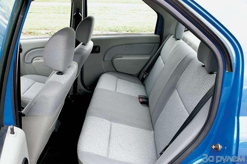 Тест Kia Spectra, Renault Logan, Nissan Almera Classic. Отбатонов доседанов— фото 66408