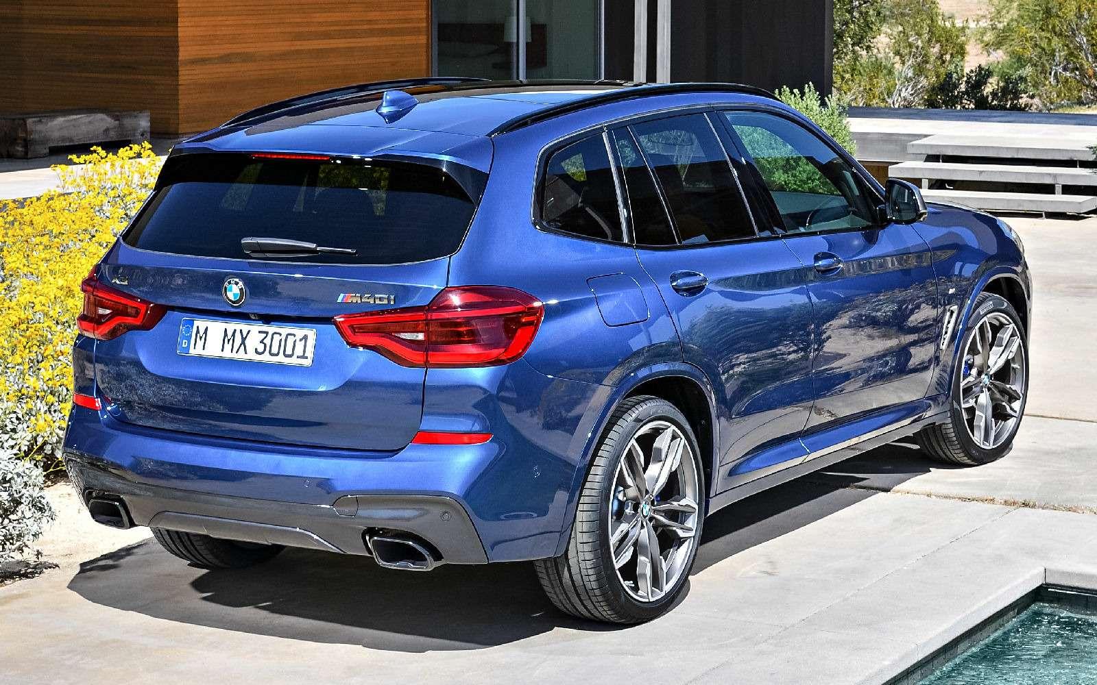 Новый BMW X3оказался крупнее старого Х5— фото 768541