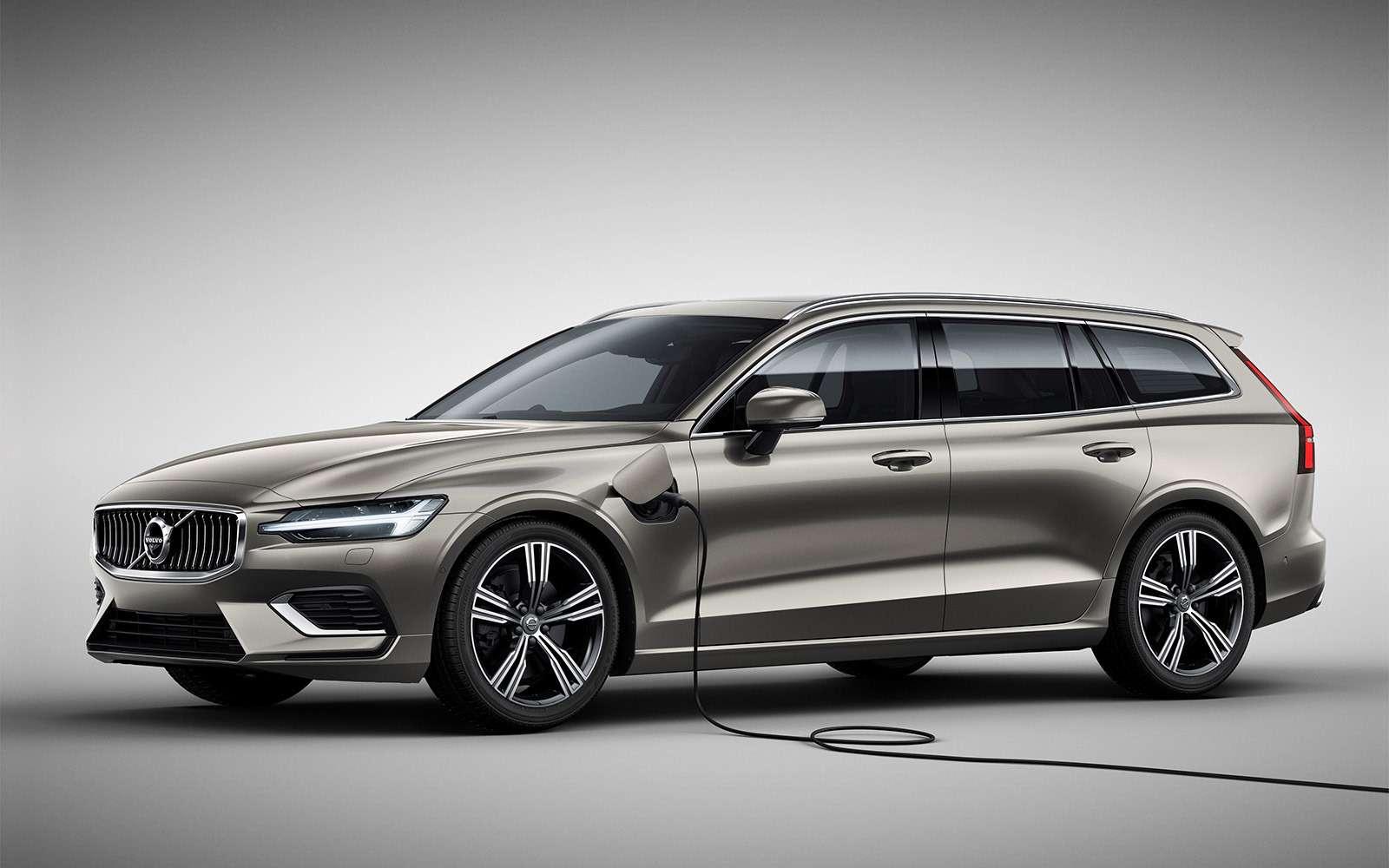 Volvo представила V60: семейный, роскошный инедлянас— фото 847547