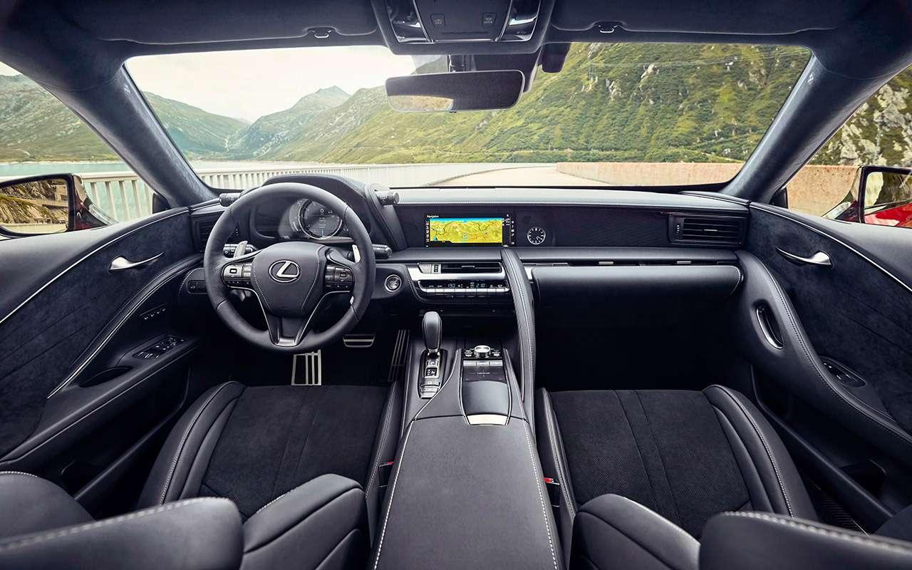 Lexus LC500— тест-драйв ЗР— фото 805878