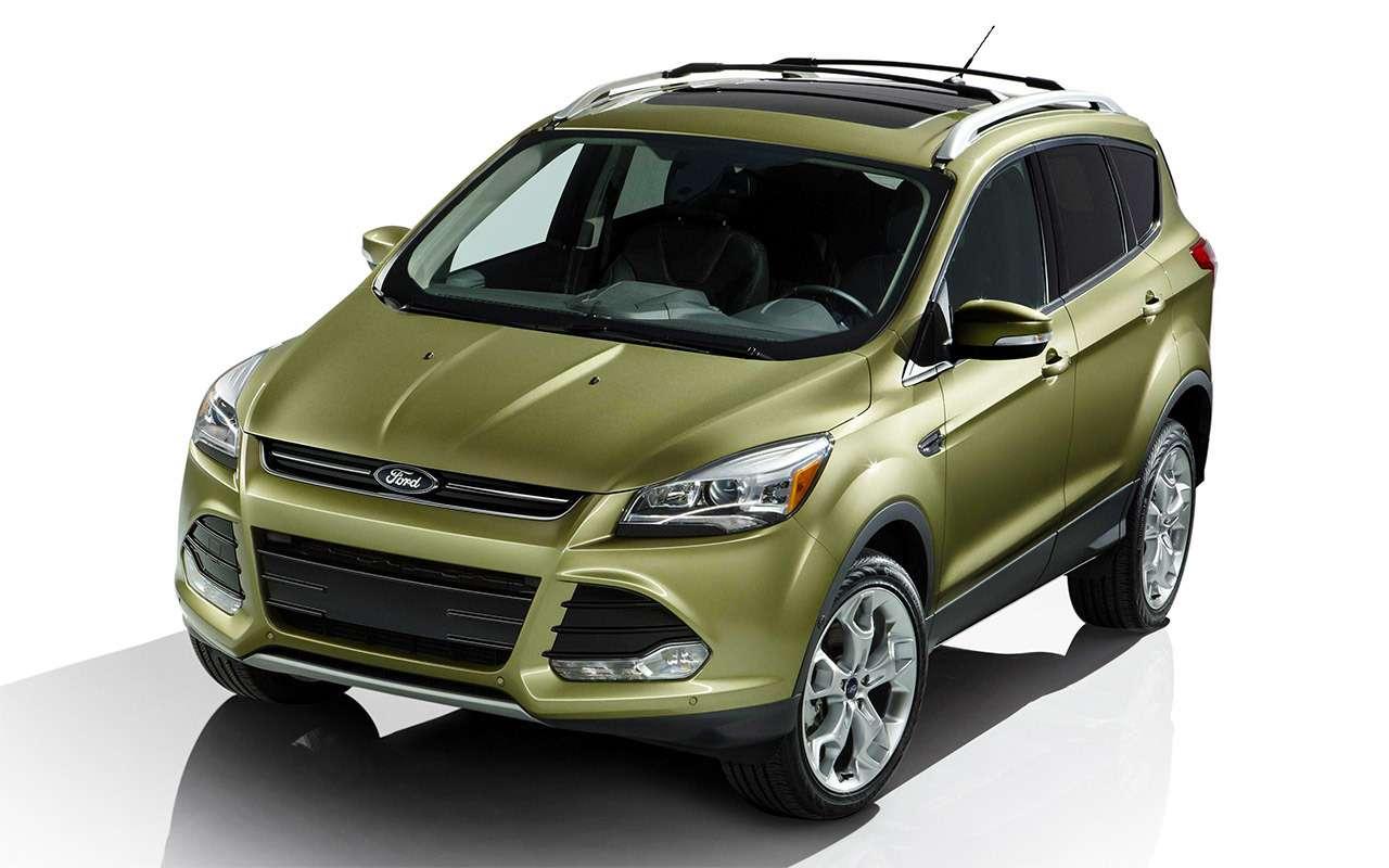 Ford Kuga навторичке: все его неисправности— фото 986483