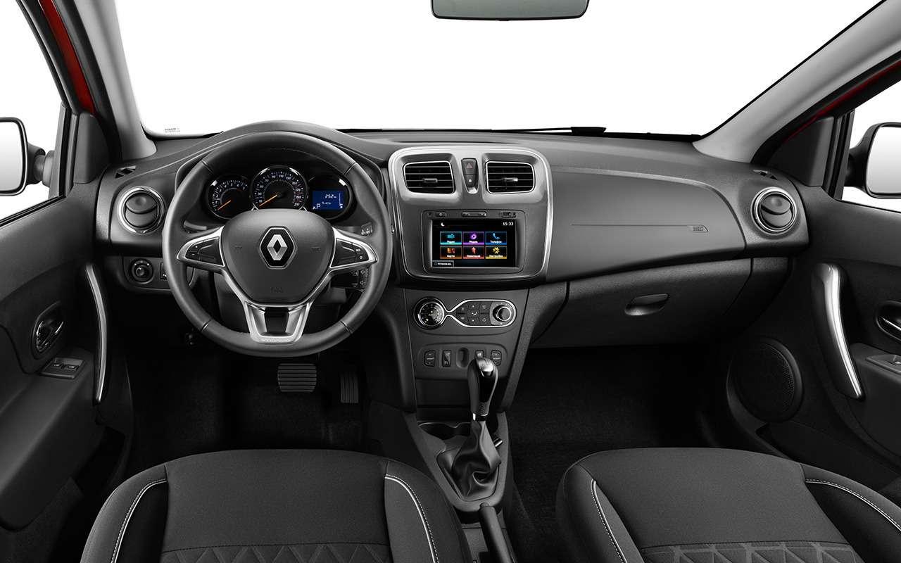 Lada Vesta Cross или Renault Logan Stepway— что выбрать?— фото 918561