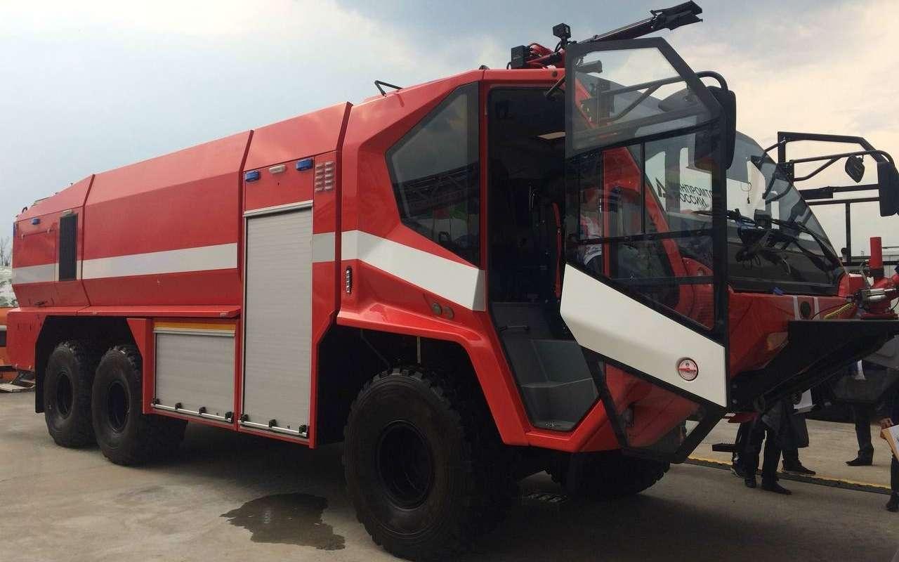 Раскрыты характеристики нового «пожарного монстра» БАЗ— фото 1248354